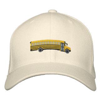 Gorra Bordada Bordado de encargo del autobús escolar