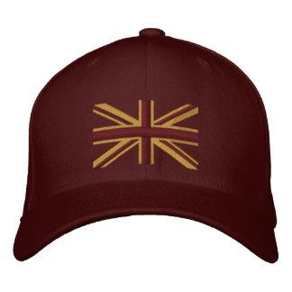Gorra Bordada Bordado real del Swag de Inglaterra de la bandera
