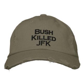 Gorra Bordada Bush mató a JFK