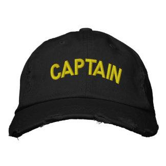 Gorra Bordada Capitán de un barco o de un equipo que se divierte