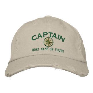 Gorra Bordada ¡Capitán Nautical STAR lo personaliza! Bordado