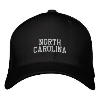 Gorra Bordada Carolina del Norte