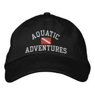 Gorra Bordada Casquillo acuático de las aventuras