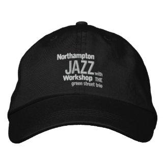 Gorra Bordada Casquillo bordado del taller del jazz de