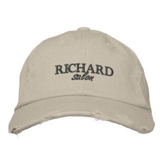 Gorra Bordada Casquillo bordado logotipo del salón de Richard