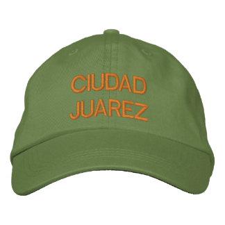 Gorra Bordada Casquillo de Ciudad Juárez
