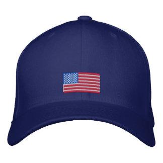 Gorra Bordada Casquillo de la bandera americana