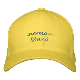 Gorra Bordada Casquillo de la bola de la isla de Sherman