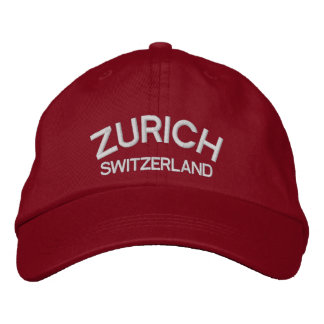 Gorra Bordada Casquillo de la obra clásica de Zurich* Suiza