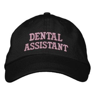 Gorra Bordada Casquillo del ayudante de dentista