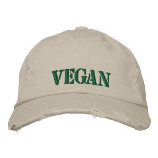 Gorra Bordada Casquillo del vegano