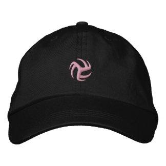 Gorra Bordada Casquillo del voleibol - rosa