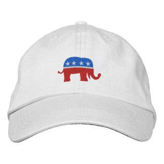 Gorra Bordada Casquillo patriótico/de la elección republicano