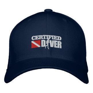 Gorra Bordada Casquillos bordados certificados del buceador 2