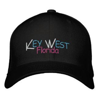 Gorra Bordada Colores del coral de Key West la Florida