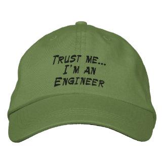 Gorra Bordada Confíeme en… Soy ingeniero