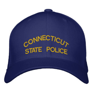 GORRA BORDADA CONNECTICUT, POLICÍA DEL ESTADO