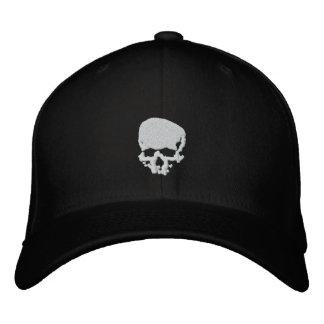 Gorra Bordada Cráneo de la firma del día de Wither de la mente