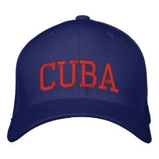 Gorra Bordada Cuba