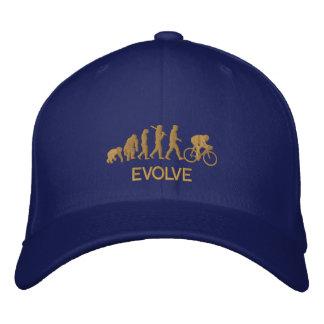 Gorra Bordada Desarrolle la evolución de la bicicleta de ciclo