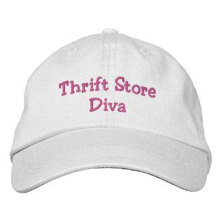 Gorra Bordada Diva de la tienda de descuento