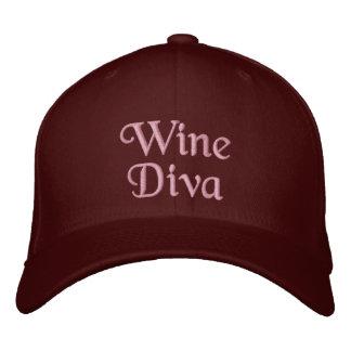 Gorra Bordada Diva del vino