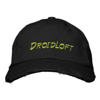 Gorra Bordada DroidLoft apenó el casquillo