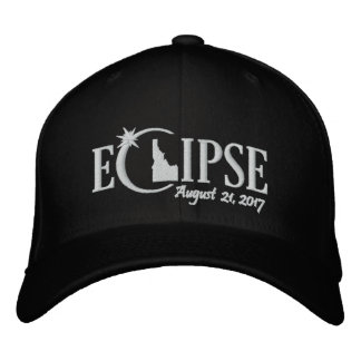 Gorra Bordada Eclipse solar en Idaho - 21 de agosto de 2017