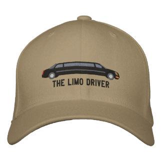 Gorra Bordada El bordado de encargo del conductor de la limusina