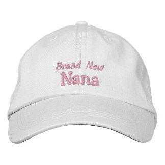 Gorra Bordada El día O el cumpleaños de los Nana-Abuelos a