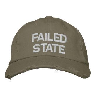 Gorra Bordada Estado fallido