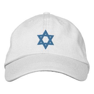 Gorra Bordada Estrella de David judía