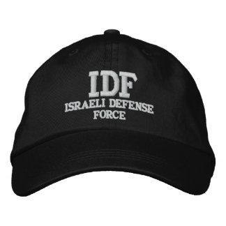GORRA BORDADA FUERZA DE DEFENSA ISRAELÍ DE LA CA