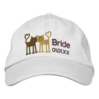 Gorra Bordada Gatos del amor