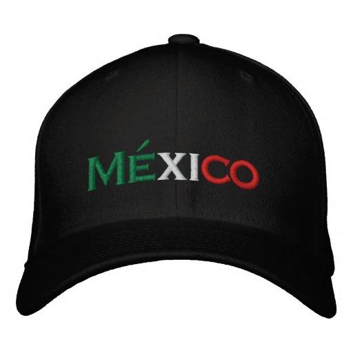 Gorra Bordada Gorra  Lindo de México f28290cb767