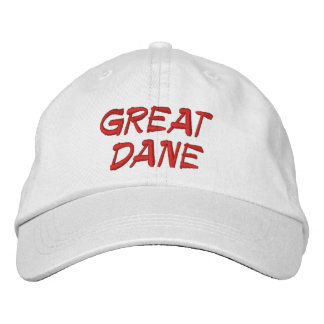 GORRA BORDADA GREAT DANE