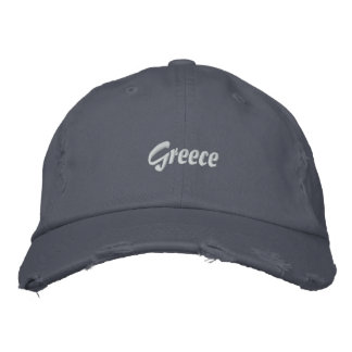 Gorra Bordada Grecia