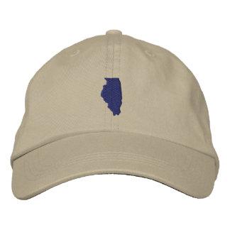 Gorra Bordada Illinois