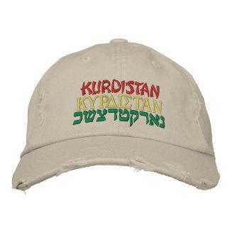 GORRA BORDADA KURDISTAN, KURDISTAN, KURDISTAN