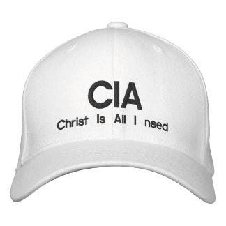 Gorra Bordada La Cia, Cristo es toda lo que necesito