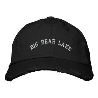 Gorra Bordada Lago big Bear