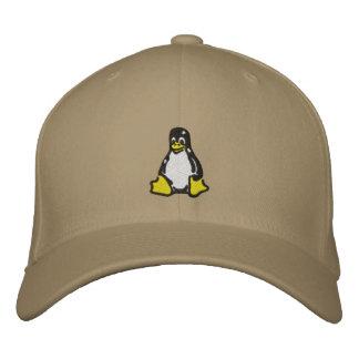 Gorra Bordada Linux Tux