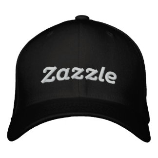 "Gorra Bordada Logotipo 4"" de Zazzle"
