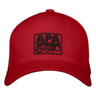 Gorra Bordada Logotipo de APA - negro