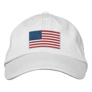 Gorra Bordada Los E.E.U.U. América patriótica
