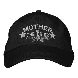 Gorra Bordada Madre personalizada de las estrellas del bordado