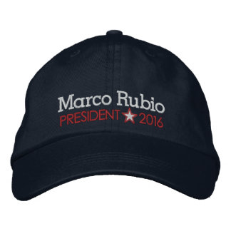 Gorra Bordada Marco Rubio 2016