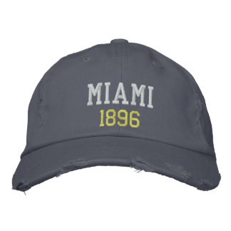 GORRA BORDADA MIAMI 1896