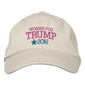 Gorra Bordada Mujeres para Donald Trump - presidente 2016