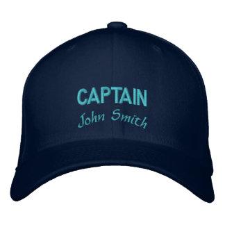Gorra Bordada Nombre del capitán personalizado